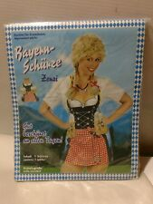 german beer maid apron new grilling Germany women's one size adult