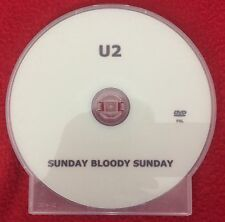 Mega Rare Official U2 SUNDAY BLOODY SUNDAY PROMO 2008 DVD