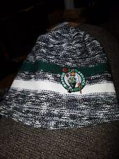 NWT Boston Celtics  NBA Mitchell & Ness  Patch Hat Cap Toque Beanie Knit