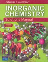 Inorgánico Chemistry: Solutions Manual Libro en Rústica Catherine E.Housecroft