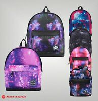 Hot Tuna Zipped Adjustable Straps Galaxy Backpack Size H 42 x W 39 x D 12 cm
