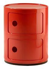 Meuble de Rangement Componibili 2 portes Rouge Original Kartell