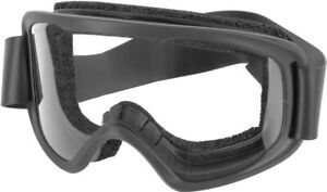 Oakley O-Frame 2.0 PRO PPE Ventilated Black Goggles w/ Clear Lenses - OO7123-01