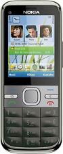 Nokia C Series C5-00 5.0MP Bluetooth FM Radio  3G Cell Phone Grey