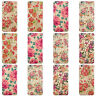 DYEFOR WOOD & ROSES COLLECTION HARD CASE COVER FOR APPLE IPHONE MOBILE PHONES