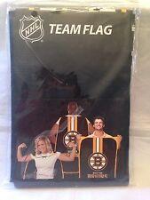 """Boston Bruins NEW Team Flag 31.5"""" x 47"""" by Little Earth. NHL Hockey Fun Fan"""