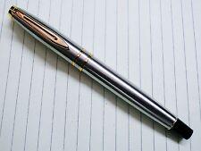 Baoer fountain Pen Medium Nib Steel & Golden Parts - New