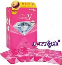 2x Korea Mask House Slim Lifting Face Chin Cheek Diamond V-Fit Refill +free gift