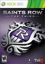 Saints Row 1 + 2 + The Third (Microsoft Xbox 360, 2011) XBOX ONE LOT