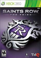 Saints Row: The Third (Microsoft Xbox 360, 2011)