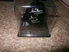 Darth Vader Deagostini helmet & case hand signed by Dave Prowse UACC Dealer