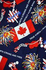 Nurse Vet Tech Dental Scrub V-neck Top True North Strong & Free Canada