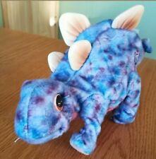 """Playskool Kota & Pals 8"""" Purple Stegosaurus Moves Dinosaur 2008 Interactive"""