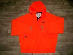 Mount'N Prairie Work Hunting Blaze Orange Upland Jacket Coat Men's Size Large