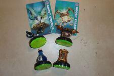 4 Figuras Skylanders Spyro Adventure Time Twister Tesoro Escondido Elixir espada