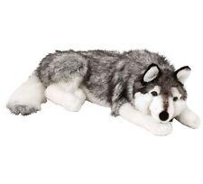 Giocattolo Morbido Grande Husky Cane Peluche 70 cm Huge Peluche Giocattolo Soffice Grande Animale Domestico Cucciolo Regalo