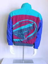 vtg 90s authentic NIKE FLIGHT colorblock hip hop indie seapunk VAPORWAVE jacket