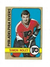 1972/73 TOPPS SIMON NOLET #26 NRMT HOCKEY CARD 72/73