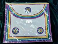 MASONIC REGALIA-RAM-ROYAL ARK MARINER (RAM) MEMBERS APRON