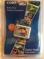 COBY Digital Photo Keychain DP-151 LCD Full Color 60 Photos NEW Sealed Package