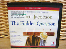 The Finkler Question by Howard Jacobson (2010, Unabridged 11 CD)