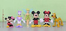 Disney Mickey Mouse & Friends pvc Mini Figures 6-pcs set