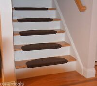Affordable Bullnose Stair Treads Carpet Non Skid Strip, Set of 1,2,3,7 or 13 New