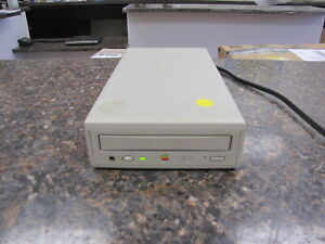Vintage Apple AppleCD 300e Plus M2918 External SCSI CD Drive - Tested Working