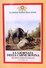 LA GIORNATA DELLA CARNE BOVINA  I quaderni dell'Accademia n.56