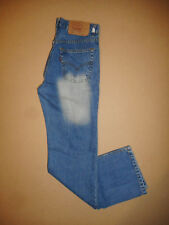 RARE Levis 501 Made in USA  Mens Blue 1990s Vintage Denim Jeans W32 L32  -E13