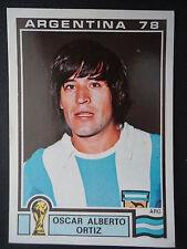 Panini 109 Oscar Alberto Ortiz Argentina WM 78 World Cup Story