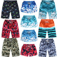 Womens Mens Travel Surf Boardshorts Board Shorts Sports Beach Swim Pants Trunks