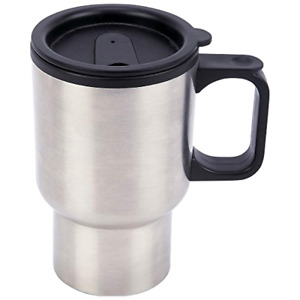 Travel Mug Coffee Tumbler Bottle 14oz Stainless Steel Fits Cup Holder Hot/Cold