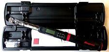 "Snap On 3/8"" Digital Flex Head TechAngle Torque Wrench ATECH2FR100B"