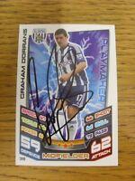 2012/2013 Autograph: West Bromwich Albion - Dorrans, Graham [Hand Signed 'Topps