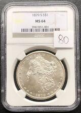 1879 S Morgan Dollar NGC MS64 Silver $1 #4279