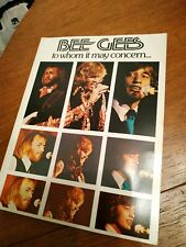 Bee Gees - 1972 To Whom It May Concern USA  songbook