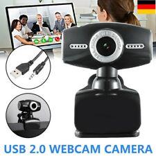 HD Webcam Laptop Computer Kamera USB 2.0 3.0 Mit Mikrofon für PC Windows 10 Mac