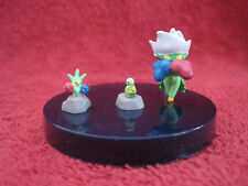 3 Pokemon Mini-Figure/Zukan:Roserade+Roselia+Knospi(Budew)/0,7-2cm,gebraucht,F17