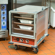 New Half Size Non-Insulated Nsf Heated Holding / Proofing Cabinet w/ Clear Door