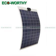 50W Poly Semi Flexbile Solar Panel of Aluminum Substrate RV Boat Caravan Cabin