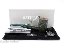 Rattray's Pfeife Fachen / Half-Bent Cherrywood / Mundstück farbig / 9-mm-Filter