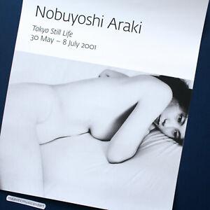 ORIGINAL 2001 NOBUYOSHI ARAKI EXHIBITION POSTER