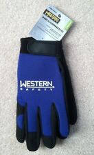 Western Safety Mechanics Gloves for Shop, Industrial, Machining, High Dexterity