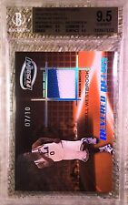 2009 PP FUSION SWATCH RELIC 7/10 RUSSELL WESTBROOK RC BGS 9.5 REGISTRY