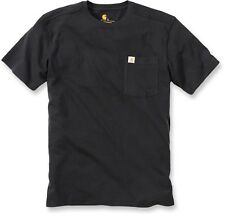 Carhartt 101125 Maddock Workwear T-Shirt with Pocket White/Grey/Navy/Black NEW
