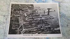 Amerika Fahrt 1928 Philadelphia Marinedocks AK Postkarte 4208