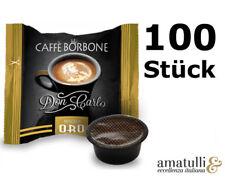 Caffè Borbone ORO 100 Kapseln - DonCarlo - kompatibel mit A Modo Mio - Gold