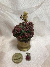 Boyds Bears Treasure Box Cupid's Bouquet w/Petals McNibble