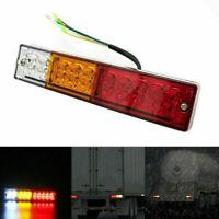 20 LED LKW Anhänger Auto Rückleuchten Heckleuchten Rücklicht Licht Lampe 12V 24V